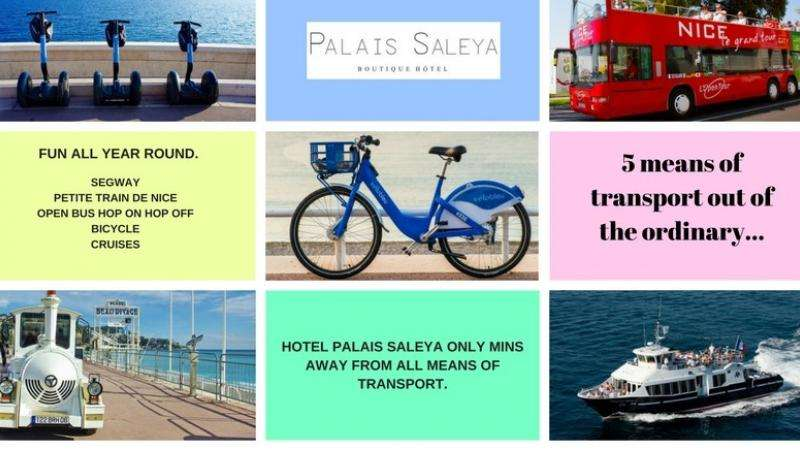 5 Ways to visit Nice: Hotel Palais Saleya