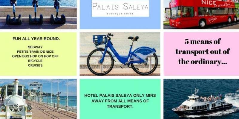 5 Ways to visit Nice: Hotel Palais Saleya
